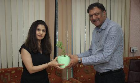 Welcome Ms. Vidhi Sahae : Nottingham Trent University
