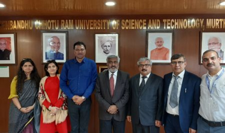 MOU with Haryana Government- Deenbandhu Chottu Ram University Of Science And Technology at Murtha